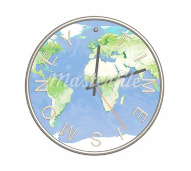Conceptual image - time is money Stock Photo - Royalty-Free, Artist: frenta                        , Code: 400-04586521
