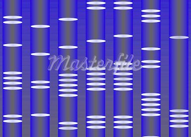 DNA portrait illustration Stock Photo - Royalty-Free, Artist: FourSeasons                   , Code: 400-04613345