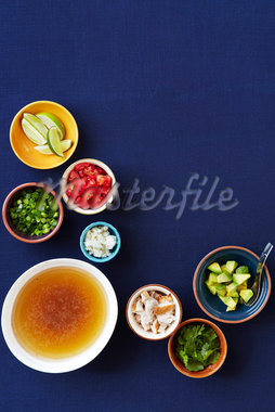Soup Ingredients Stock Photo - Premium Royalty-Free, Artist: Jodi Pudge, Code: 600-04625574