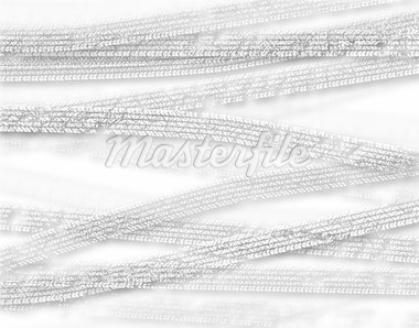 Background illustration of cutout white tire tracks Stock Photo - Royalty-Free, Artist: tawng                         , Code: 400-04688931