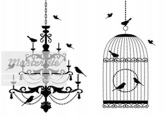 Black chandelier clip art chain chandelier clip art aloadofball Image collections