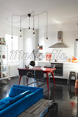 Compact apartment in Stockholm Stock Photo - Premium Rights-Managed, Artist: Arcaid, Code: 845-04827046