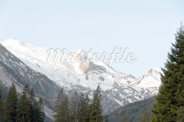 View on Hintertux Glacier at Zillertal, Tirol - Austria Stock Photo - Royalty-Free, Artist: franky242                     , Code: 400-04853751