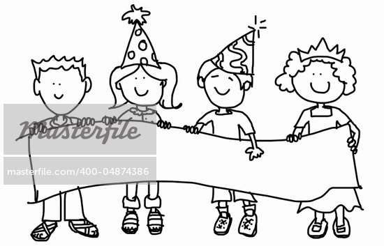 large childlike cartoon children angels colouring - Cartoon Pictures For Kids To Color