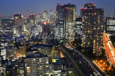 Building in Tokyo, Japan. Stock Photo - Royalty-Free, Artist: sepavo                        , Code: 400-04902982