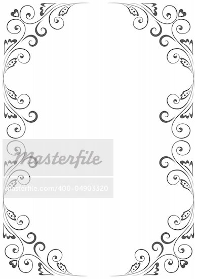 a4 size borders
