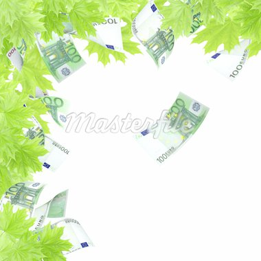 Money tree. Isolated over white Stock Photo - Royalty-Free, Artist: frenta                        , Code: 400-04914466