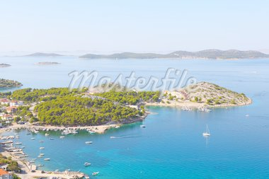 Adriatic coast landscape Stock Photo - Royalty-Free, Artist: WDG_Photo                     , Code: 400-04920021