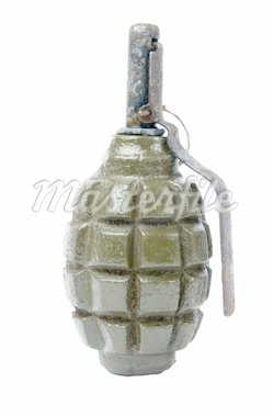 old grenade Stock Photo - Royalty-Free, Artist: spaxiax                       , Code: 400-04925953