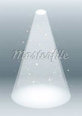 Snow falling in a white spotlight concept Stock Photo - Royalty-Free, Artist: Nicemonkey                    , Code: 400-04926292