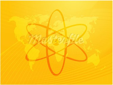 Atomic symbol Stock Photo - Royalty-Free, Artist: kgtoh                         , Code: 400-05005433
