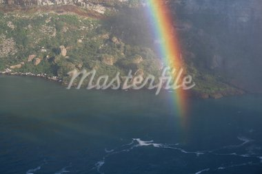 A rainbow shot against Niagara Falls.  Stock Photo - Royalty-Free, Artist: ca2hill                       , Code: 400-05014433