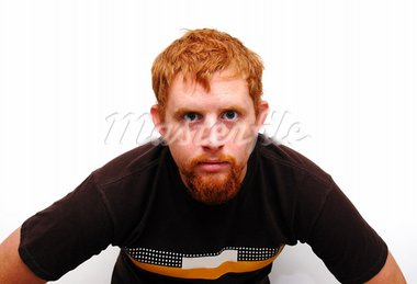 A young guy looking at the camera. Stock Photo - Royalty-Free, Artist: strikerx98                    , Code: 400-05026169