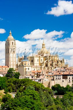 Segovia, Castile and Leon, Spain Stock Photo - Royalty-Free, Artist: phbcz                         , Code: 400-05208844