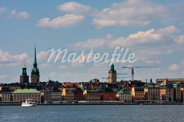 View to Stockholm, Gamla Stan Stock Photo - Royalty-Free, Artist: aniad                         , Code: 400-05256127