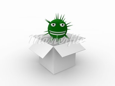 virus concept Stock Photo - Royalty-Free, Artist: inq                           , Code: 400-05296362