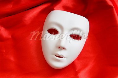 Theatre concept with the white plastic masks Stock Photo - Royalty-Free, Artist: ElnurCrestock                 , Code: 400-05316444