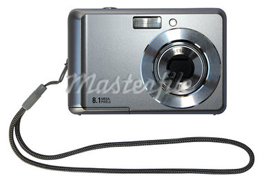 Digital  camera  isolated on white background     Stock Photo - Royalty-Free, Artist: mariam1992                    , Code: 400-05348333