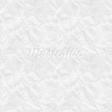 Seamless rumpled paper texture. Vector illustration. Stock Photo - Royalty-Free, Artist: avian                         , Code: 400-05348759