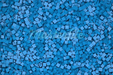 high quality rendering of one thousand cubes Stock Photo - Royalty-Free, Artist: rpstudio                      , Code: 400-05354782