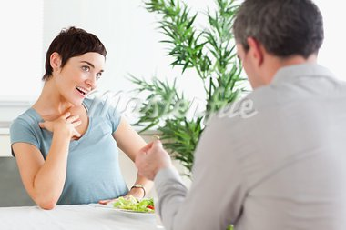 Handsome Man proposing to smiling girlfriend in a restaurant Stock Photo - Royalty-Free, Artist: 4774344sean                   , Code: 400-05357397