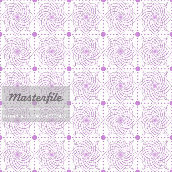 Abstract background of beautiful seamless floral pattern Stock Photo - Royalty-Free, Artist: inbj                          , Code: 400-05363499