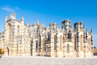 Monastery of Santa Maria da Vitoria, Batalha, Estremadura, Portugal Stock Photo - Royalty-Free, Artist: phbcz                         , Code: 400-05374015