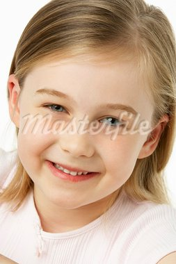 Young Girl Smiling Stock Photo - Royalty-Free, Artist: MonkeyBusinessImages          , Code: 400-05374237