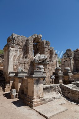 Ancient city of Perge near Antalya Turkey Stock Photo - Royalty-Free, Artist: moscowbear                    , Code: 400-05377618