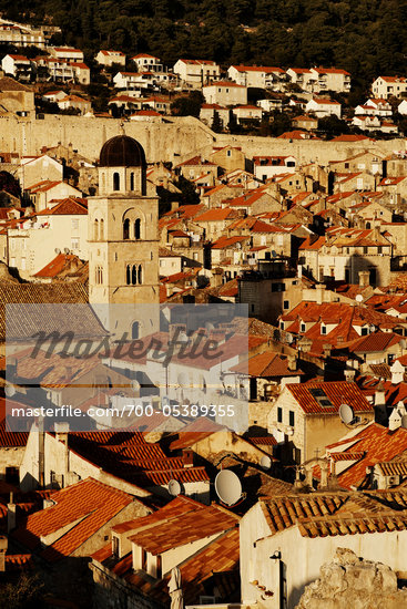 Rooftops, Old City, Dubrovnik, Croatia Stock Photo - Premium Rights-Managed, Artist: John Cullen, Code: 700-05389355