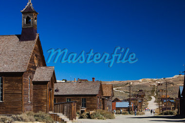 Bodie, Californian wild west, Gold Rush ghost town Stock Photo - Premium Royalty-Freenull, Code: 6106-05409651