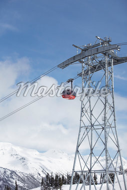 Gondola, Whistler, British Columbia, Canada Stock Photo - Premium Rights-Managed, Artist: Ron Fehling, Code: 700-05451099