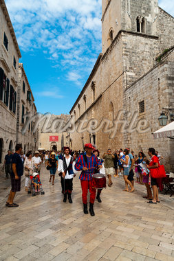 Stradun Street, Dubrovnik, Dubrovnik-Neretva County, Croatia Stock Photo - Premium Rights-Managed, Artist: Emanuele Ciccomartino, Code: 700-05451930