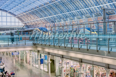St. Pancras Eurostar Terminal, Camden, London, England Stock Photo - Premium Rights-Managed, Artist: Matt Brasier, Code: 700-05452085