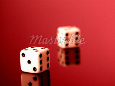 Dice, close up Stock Photo - Premium Royalty-Freenull, Code: 6106-05466133