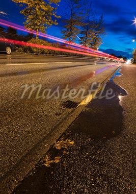 Streaking Car Lights on Road, Kopavogur, Southwest Iceland, Iceland Stock Photo - Premium Royalty-Free, Artist: Atli Mar Hafsteinsson, Code: 600-05524171