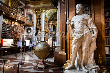 Interior of Austrian National Library, Hofburg Palace, Vienna, Austria Stock Photo - Premium Rights-Managed, Artist: R. Ian Lloyd, Code: 700-05609890