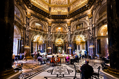 Cafe in Kunsthistorisches Museum, Vienna, Austria Stock Photo - Premium Rights-Managed, Artist: R. Ian Lloyd, Code: 700-05609906