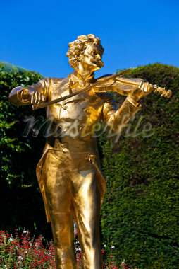 Johann Strauss Monument, Stadtpark, Vienna, Austria Stock Photo - Premium Rights-Managed, Artist: R. Ian Lloyd, Code: 700-05609960