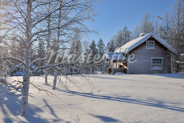 Winter Scene, Kuusamo, Northern Ostrobothnia, Finland Stock Photo - Premium Rights-Managed, Artist: Raimund Linke, Code: 700-05609964