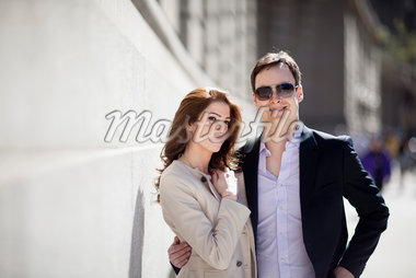 Portrait of Couple Stock Photo - Premium Rights-Managed, Artist: Ikonica, Code: 700-05641800