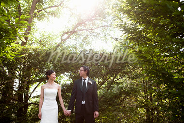 Bride and Groom, Ontario, Canada Stock Photo - Premium Royalty-Free, Artist: Ikonica, Code: 600-05641962
