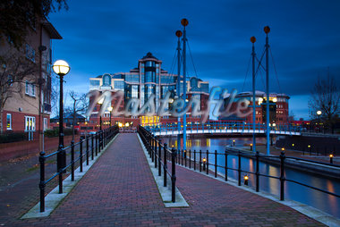 Victoria Harbour Building, Salford Quays, Salford, England Stock Photo - Premium Rights-Managed, Artist: Jason Friend, Code: 700-05641995