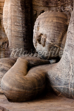 Reclining Buddha, Gal Vihara, Polonnaruwa, Sri Lanka Stock Photo - Premium Rights-Managed, Artist: R. Ian Lloyd, Code: 700-05642245