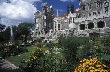 CASA LOMA TORONTO ONTARIO CANADA Stock Photo - Premium Rights-Managed, Artist: ClassicStock, Code: 846-05647341