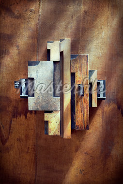 Letterpress 1's Stock Photo - Premium Royalty-Free, Artist: Daryl Benson, Code: 600-05656540