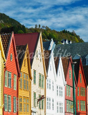 Bergen, Norway Stock Photo - Royalty-Free, Artist: phbcz                         , Code: 400-05668203