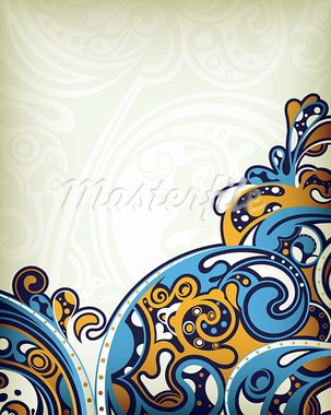 Illustration of abstract curve background. Stock Photo - Royalty-Free, Artist: billyphoto2008                , Code: 400-05668879