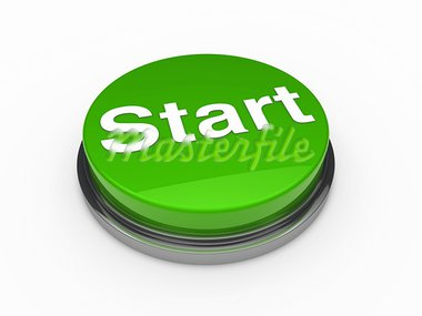 3d button start green push technology press Stock Photo - Royalty-Free, Artist: dak                           , Code: 400-05669199