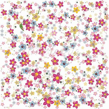 flower background vector illustration Stock Photo - Royalty-Free, Artist: bernil                        , Code: 400-05670197
